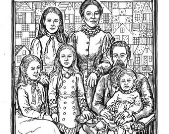 Laura Ingalls Wilder Coloring Pages - Costumepartyrun