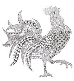 pin  majestic rock  gems  roosters coloring pages