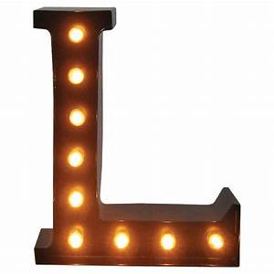 Metal Marquee Letter L - Threshold : Target