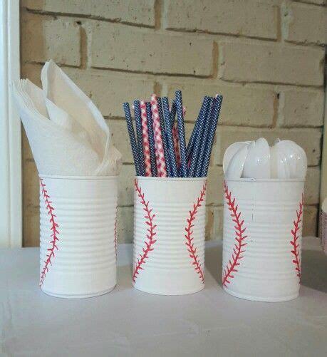 baseball birthday diy decor baseball bday party