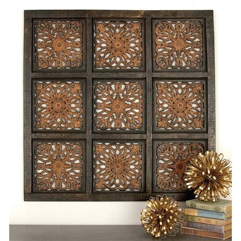 36 In 36 In Traditional Decorative Wood Wall Panel In