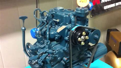 smallest kubota diesel engine  youtube