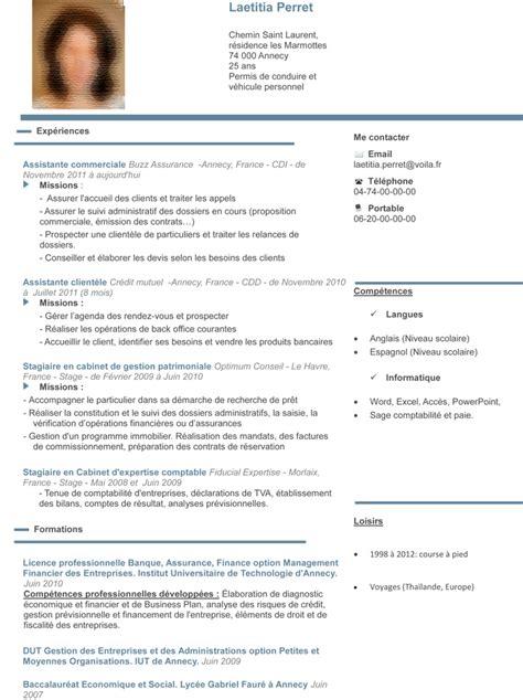 modele cv adjoint administratif 2eme classe cv anonyme