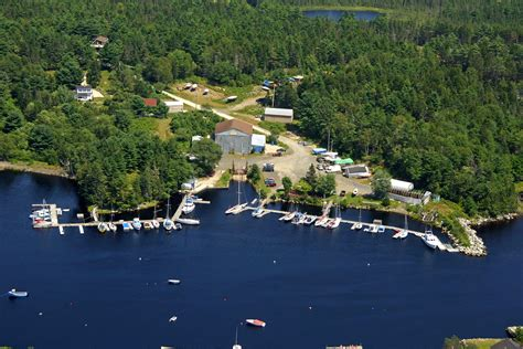 Gold River Boat Launch by Gold River Marina In Chester Basin Ns Canada Marina