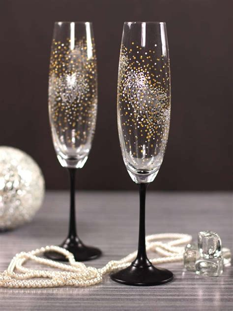 years firework champagne flutes favecraftscom