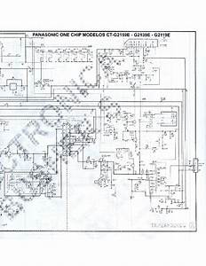 Samsung 21 Inch Crt Tv Circuit Diagram