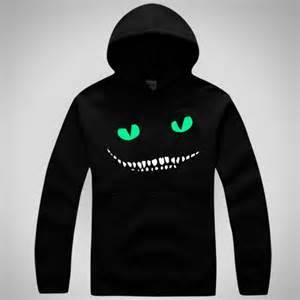 cheshire cat hoodie in cheshire cat logo hoodie sweatshirt