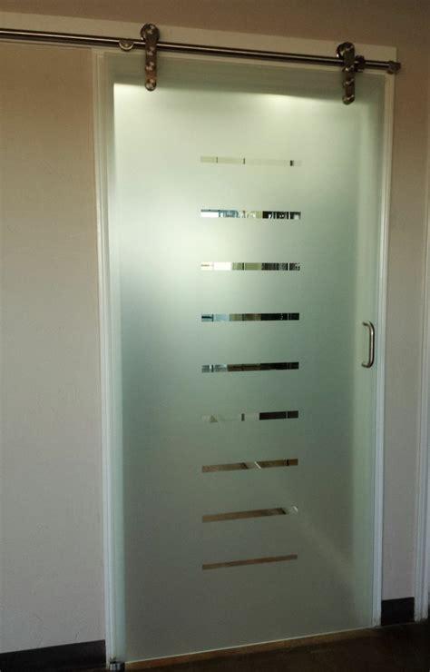 sliding glass barn door home decor custom shower doors
