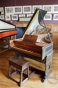 Piano Clave Clavicordio Spineta Virginal On Pinterest