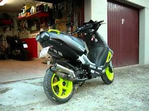 APRILIA SR TUNING -parte2- - YouTube