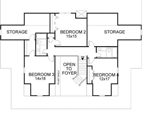 Pictures House Plans Bedrooms by Farmhouse Style House Plan 4 Beds 3 5 Baths 3493 Sq Ft