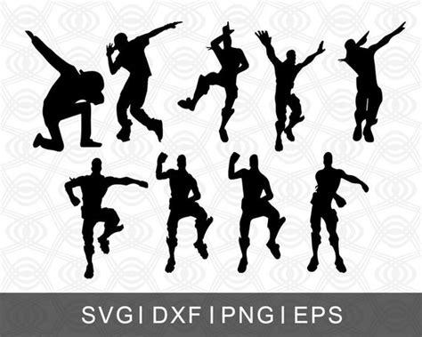 Fortnite Dance Moves Collage Svg Png Eps Dxf