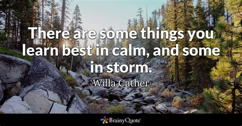 willa cather      learn   calm
