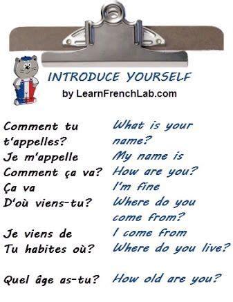 French 101 - #Luxurydotcom | French love phrases, Basic ...