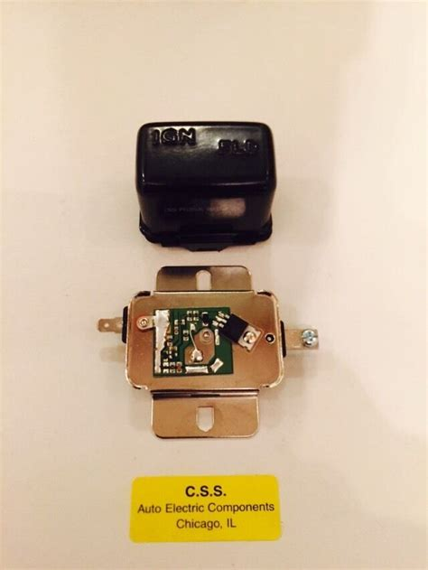 Chrysler Dodge Plymouth Voltage Regulator Electronic Solid