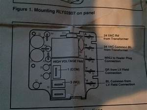 I Am Having Trouble Wiring A Rly02807 Time Delay Relay On A Trane Heat Pump With Electric Aux
