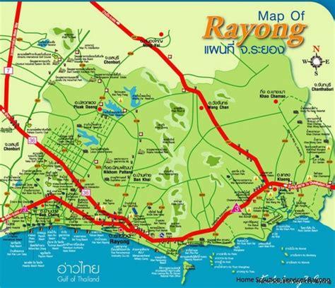 Kartor och avstånd | Real Estate Services in Rayong – Home ...