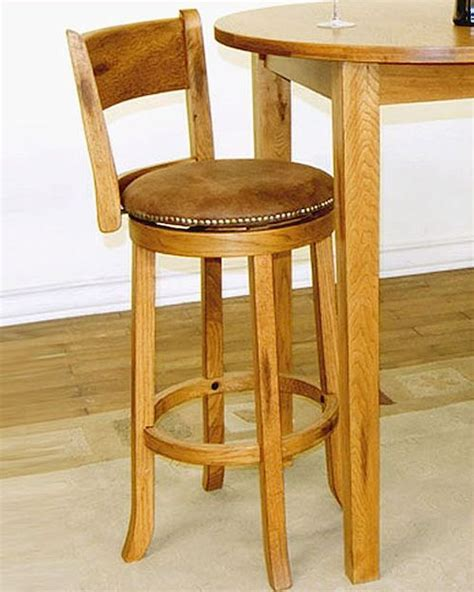 wooden swivel bar stools with backs home design ideas