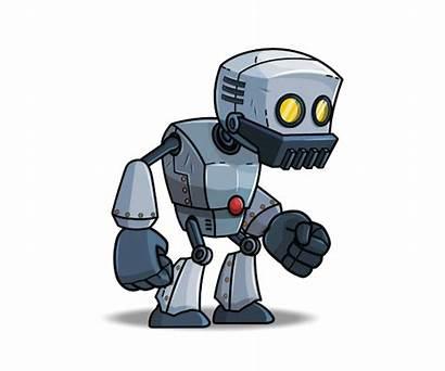 Robot Robo Characters Royalty Character Hands Advisors