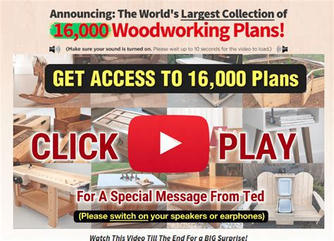 teds woodworking review guide     furniture