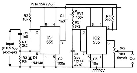 555 monostable circuits nuts volts magazine