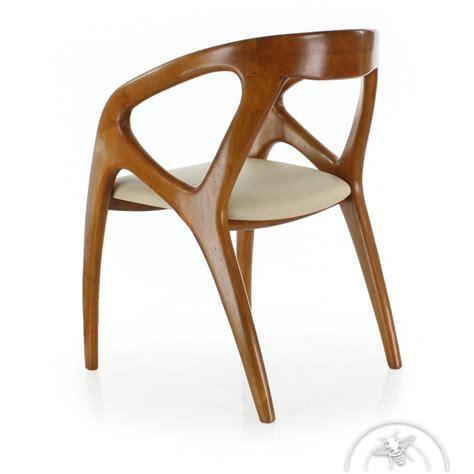 chaises de bureau design chaise de bureau design scandinave cuir beige orsay