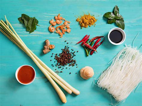 stock  thai pantry essential ingredients