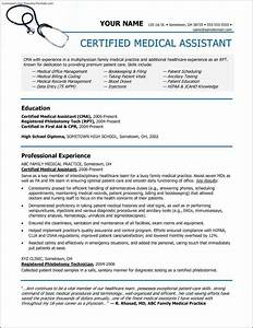 medical assistant resume templates free free samples With free medical assistant resume templates