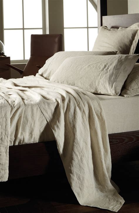 abbotson flax linen sheets pillowcases sold separately sheets eurocases and