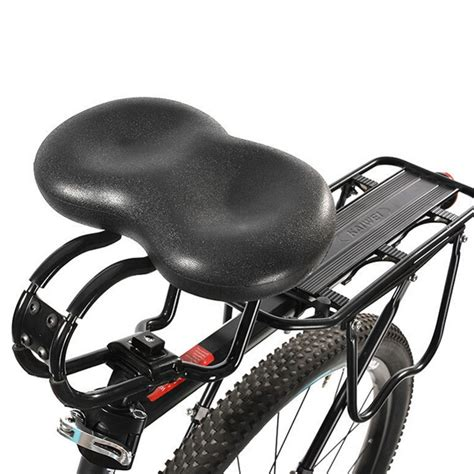 saddle bicycle seat wide extra noseless pressure ergonomic adult padded comfort bike sella road cuoio bicicletta leather imbottito adulto cuscino