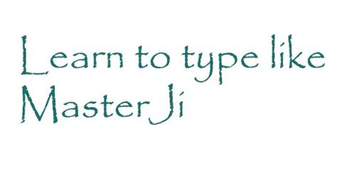 Learn Type Fast Like Masterji With Some Easy Methods