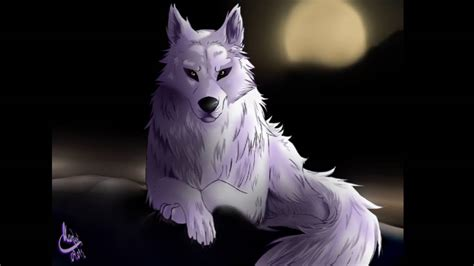 Anime Wolves-cry Wolf