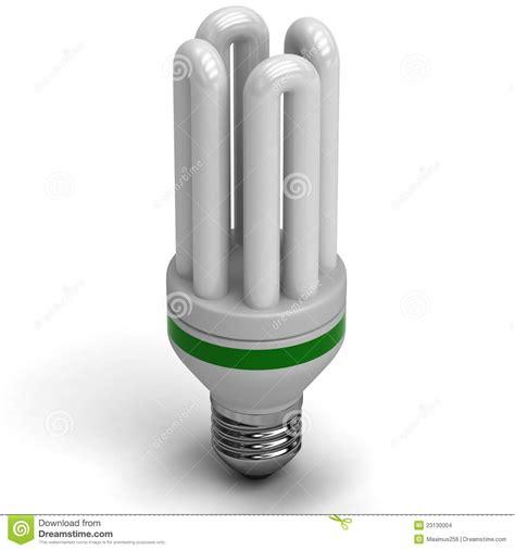 fluorescent energy saving light bulb stock images image