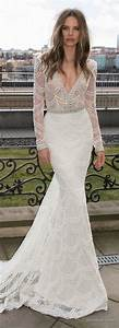 222 beautiful long sleeve wedding dresses 1 femaline With long sleeve tight wedding dresses