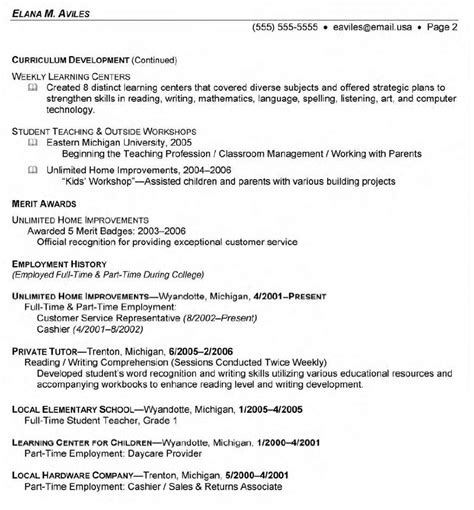 Recent Graduate Resume 2015 by Format Resume Page 2 Search Results Calendar 2015