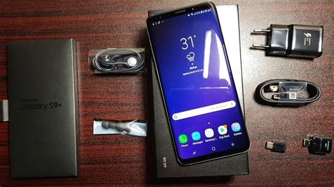 Samsung Galaxy S9 Plus Unboxing Youtube
