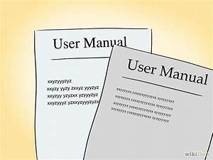 Create A User Manual