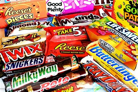 candy bar clever sayings for almost every occasion