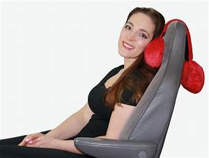 adjustable neck pillow hangs over your seat for firm head With body prop pillow