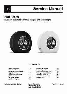Jbl Horizon Service Manual  U2014 View Online Or Download