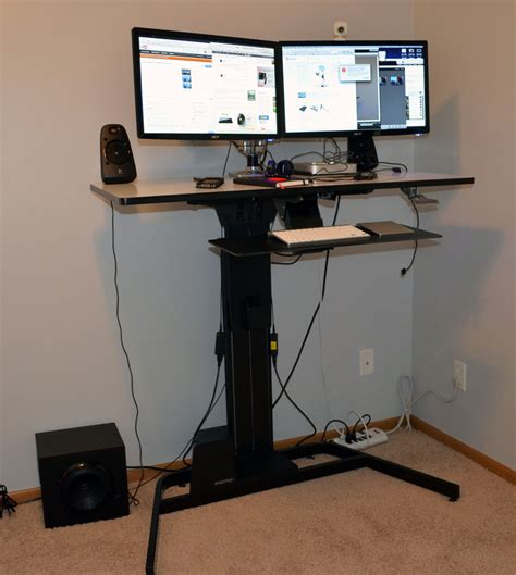 ergotron standing desk manual ergotron workfit d review nearly sit stand desk