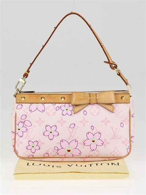 louis vuitton pink cherry blossom monogram canvas