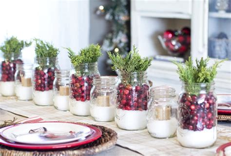 How To Decorate Your Christmas Table With Herbs And Other