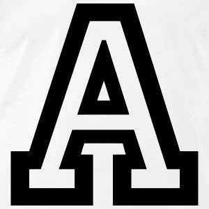 shop letter t shirts online spreadshirt With big letter t shirts
