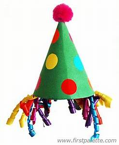 clown hat craft kids39 crafts firstpalettecom With clown hat template