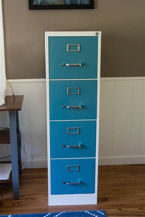 how to paint metal file cabinet how to paint and makeover a metal file cabinet