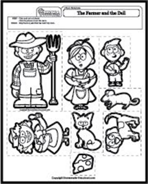 farm songs for preschoolers the farmer in the dell felt printables farm unit 683