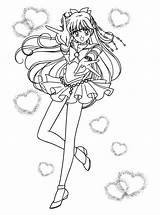 Coloring Pages Sailormoon Sailor Series sketch template