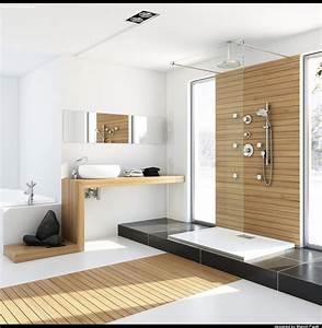 home modern bathroom wood interior decor interiordecodircom With bathroom interior