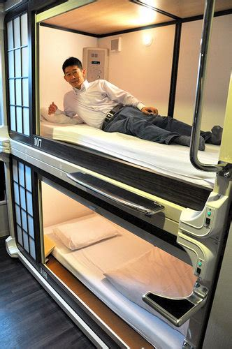 japans capsule hotels  high tech  high style